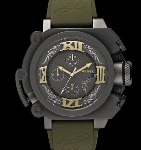 Тату-часы Only the Brave от Diesel