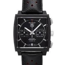 TAG Heuer  представляет Black Edition Monaco Chronograph