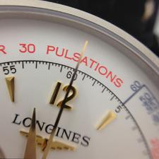 Longines представляет новую версию исторической модели Asthmometer-Pulsometer Chronograph