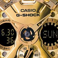 Новые часы Casio G-Shock Gold x Black. Черное золото в крепком корпусе