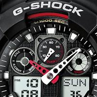 Часы G-Shock GA 100. Топ-5 лучших часов из серии GA-100.