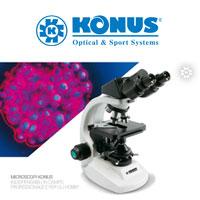 Обзор микроскопов Konus