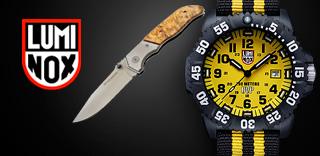 Акция Luminox - к часам немецкий нож  в подарок